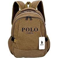 videng Polo Casual Backpack 1517inch Laptop Bolsos School Bookbag