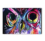 Poster Hmbrothers Stylish Art Print Owl Pattern Print Wall Decorative Wall Poster 20-Inch By 30-Inch