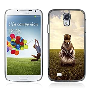Designer Depo Hard Protection Case for Samsung Galaxy S4 / Army Soldier Squirrel