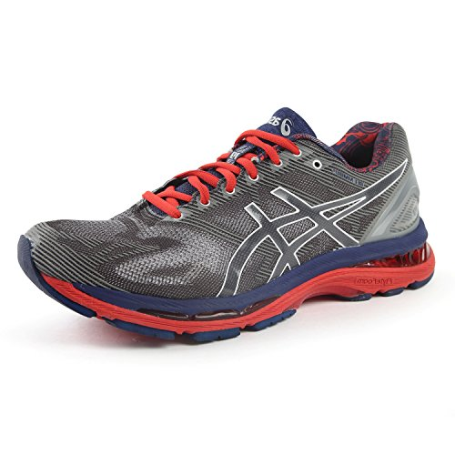 Asics Heren Gel Nimbus 19 Lite Vertoning Carbon / Wit / Reflecterende Carbon / Wit / Reflecterende