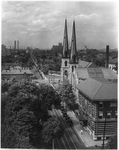 Louisville,KY,Second St north from York,c1930,Kentucky Photo
