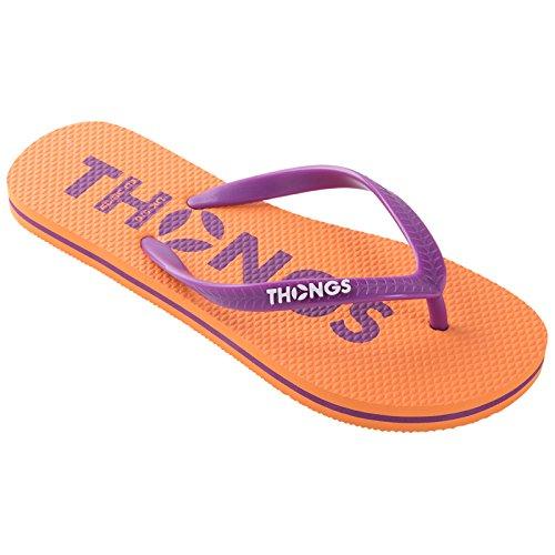 Orange Hombre Para Thongs Classic Sandalias wt1xwnfqz