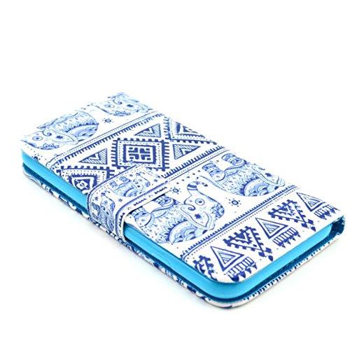 Painting Art Design Beutel PU Leder Stehen Flip Schutzhülle Hülle Tasche Schale Case Cover für Apple iPhone 6 4.7 Zoll (42#)