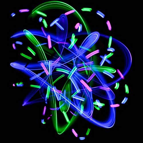 6 LED Spinning Orbit: Pure Bliss Multicolor Pattern - Flow Rave Toy