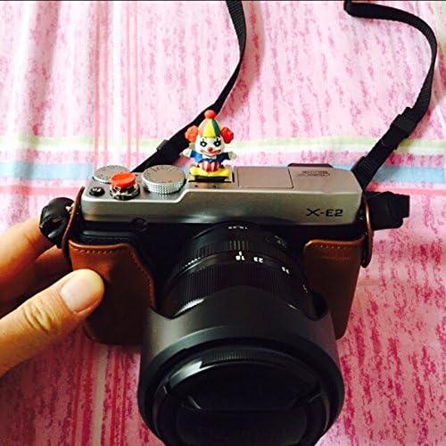 Green OLizee/™ Funny Creative Clown-Shaped Camera Hot Shoe Cover Cap