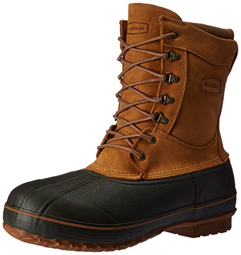 LaCrosse Men's Ice King 10 Inch 400G Pac Boot, Brown, 13 M US