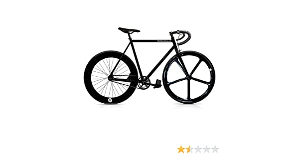 Mowheel Bicicleta Fix 5 Black. Monomarcha Fixie/Single Speed ...