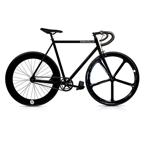 /Single Speed Fixie Fahrrad Fix 5Black. monomarcha. Größe 56 Mowheel