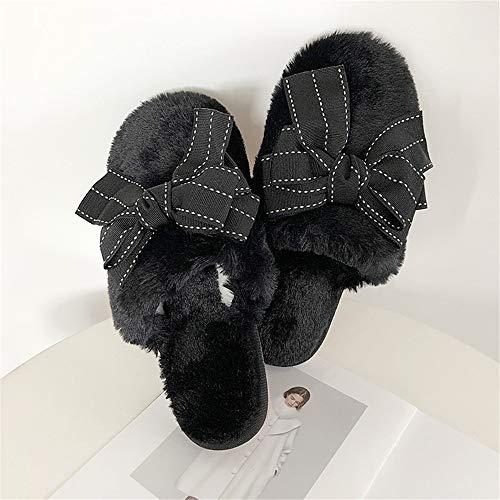 Mujer Zapatos Lhxyx De Interior E 15 Felpa Flip Zapatillas Antideslizantes Invierno Otoño Algodón Casa qtvrt5w