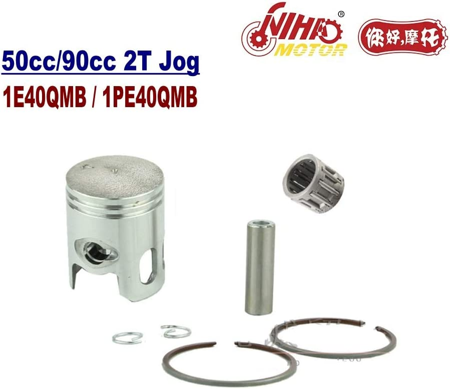 TZ-08B JOG 50cc Piston Pin 12mm Ring Set Roller Needle 2 Stroke Engine Part 1E40QMB 2T Jog Chinese Motorcycle Scooter 50 70 90cc