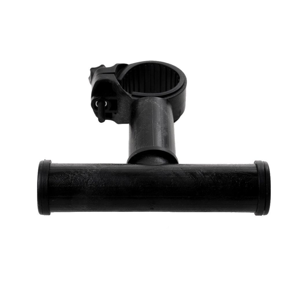 360 Grad Drehbar O Halter f/ür LED Taschenlampe Montage Lampenhalterung auf Lenker und unter Fahrradsattel Generic Fahrrad T