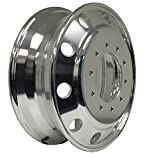 1976-1992 CHEVY/GMC P30 DUAL 19.5X6 ALUMINUM WHEEL DIRECT MOUNTED 10X7.25'' PCD (1PC OF BOTHSIDE POLISHED)