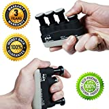 Hand Grip Strengthener & Finger Exerciser Finger Flexibility and Hand Grip Strength training for Guitar Practice-Rock Climbing Training And Trigger Finger Training- Physical Therapy & stress relief