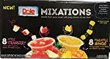 Dole Mixations - Smooth Fruit Sauce with Juicy chunks of Real Fruit - Non GMO - Gluten Free - 16 Cups - Apple Strawberry+Pineapple Mango