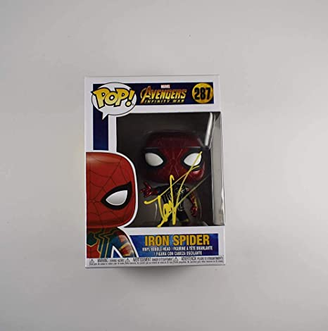 Amazon.com: Tom Holland Spider-Man Avengers Endgame Signed F ...