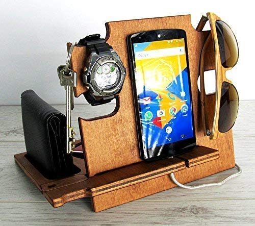 Christmas Gift Ideas For Him Amazon.Amazon Com Gift For Him Wooden Docking Station Christmas