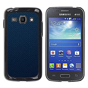 Paccase / SLIM PC / Aliminium Casa Carcasa Funda Case Cover - Texture Blue - Samsung Galaxy Ace 3 GT-S7270 GT-S7275 GT-S7272
