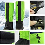 FMJY 1 Pair Outdoor Gaiters Water Resistant