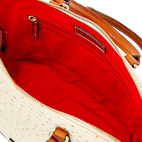 Satchel Bourke Dooney Zip Pearl Zip Ostrich amp; FHxqxz1Xw