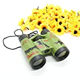 IDS Kids Binoculars for Birds Watching Folding Camouflage Scope Outdoor Games Children Boys Toys Gift