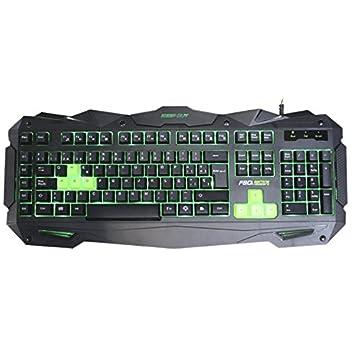 Keep Out KEP-F80S - Teclado Gaming retroiluminado, Color Negro: Keep-Out: Amazon.es: Informática
