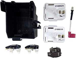 Edgewater Parts 8201786, AP3885081, PS993073 Relay And Overload Kit Compatible With Whirlpool Refrigerator