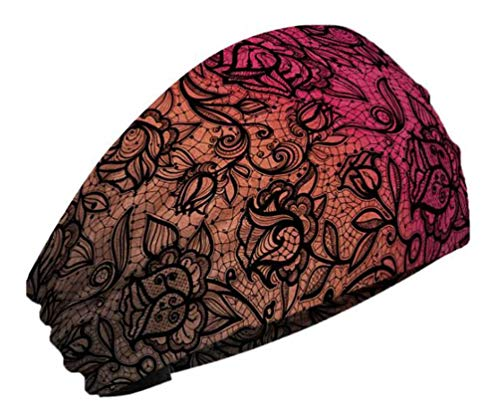 That's A Wrap Women's Lacy Lady Knotty Band - Multi-Color Ombre KB2212 - Ladies Bandana