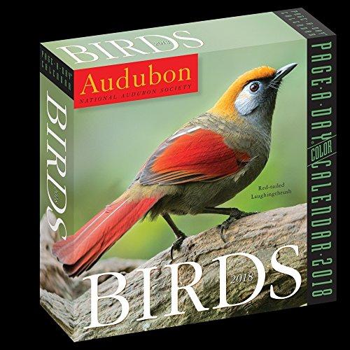 Audubon Birds 2018 Color Page-A-Day Calendar