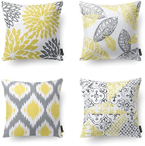 Phantoscope Living Yellow Decorative Cushion product image