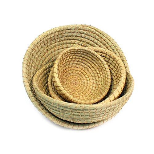 Vineworks Fair Trade Round Nesting Basket Set of 4
