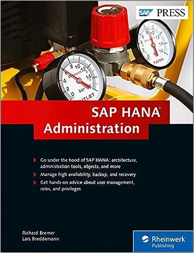 Администрирование SAP HANA