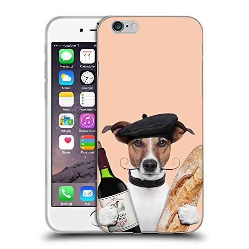 GoGoMobile Coque de Protection TPU Silicone Case pour // Q05590604 Baguette Albicocca // Apple iPhone 7