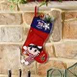New York Giants Fiber Optic Stocking