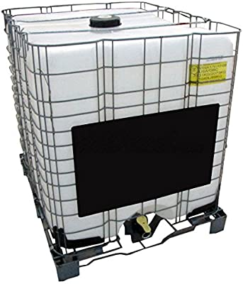 275 Gallon IBC Tote with Metal Pallet & Cage