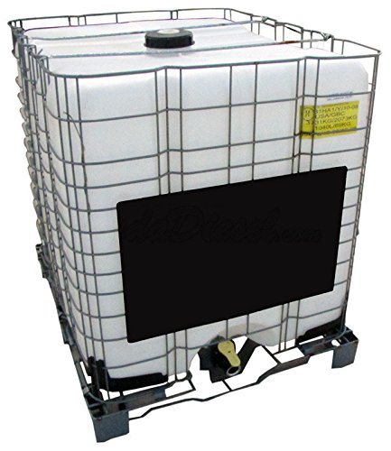 Used, 275 Gallon IBC Tote with Metal Pallet & Cage for sale  Delivered anywhere in USA