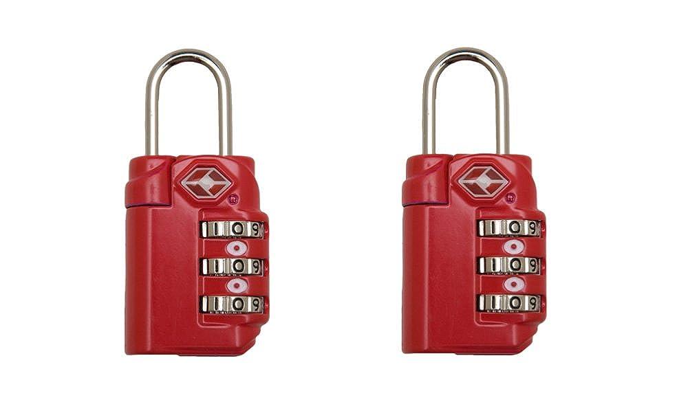 Set of 2 Inventive Travelware TSA Accepted Luggage Locks