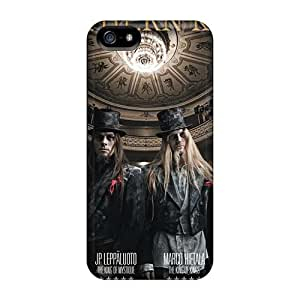 CristinaKlengenberg Iphone 5/5s Scratch Resistant Hard Cell-phone Cases Customized Lifelike Northern Kings Band Series [znO11427UoKH]