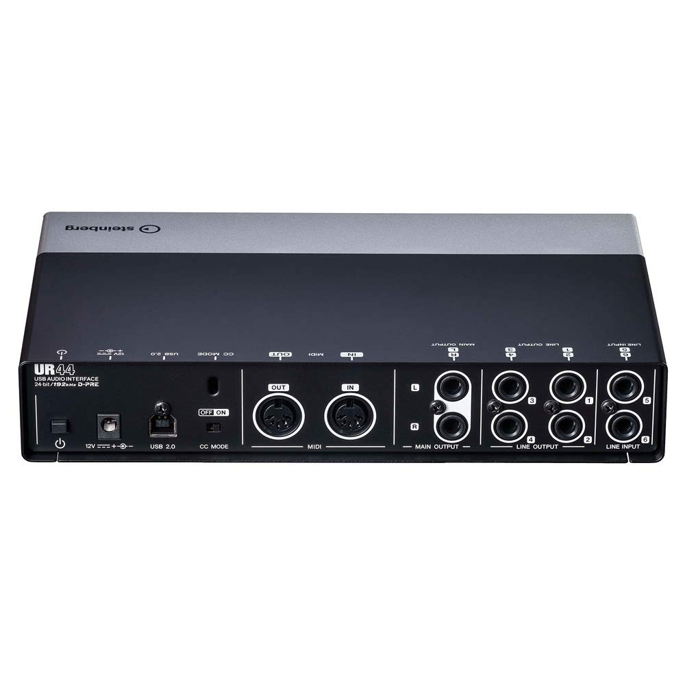 Steinberg UR44 USB 2.0 Audio Interface Bundled with On-Ear Studio Headphones and MAGIX Acid Pro 8 Music Production Software [Download Card] by Steinberg-Genesis (Image #3)