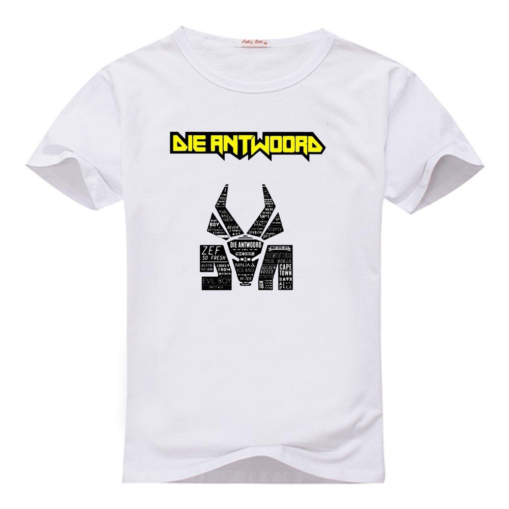 Amazon.com: Anedreabe Womens Design O-neck T-Shirt Die ...