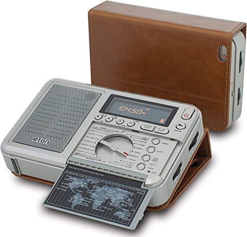 - Eton Executive Traveler AM/FM/Longwave/Shortwave Radio with Auto Tuning Storage