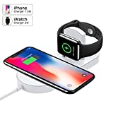 Best Apple Accessory Power Watch Phones - Apple Watch Charger, Apple iPhone Wireless Charger, iwatch Review