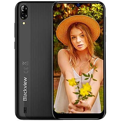"""Smartphone Offerta del Giorno 2019, Blackview A60 6.1"""" Waterdrop Schermo, 13MP+5MP, 4080mAh Batteria Cellulari Offerte, 128GB Espandibili Cellulari, Dual SIM Telefonia Mobile, 16G ROM, Android 8.1"""