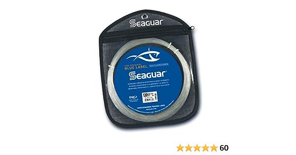 10 lb environ 45.72 m environ 4.54 kg SEAGUAR Blue Label Ligne de pêche 50 Yd