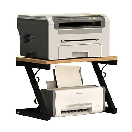 Fitlyiee - Soporte multifunción para impresora (madera, para ...