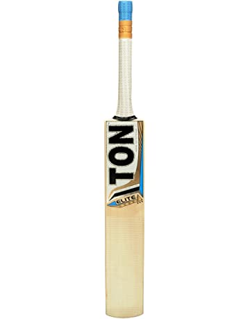 SS TON English Willow Cricket Bat (Free Extra Grip, Bat Cover Included) -