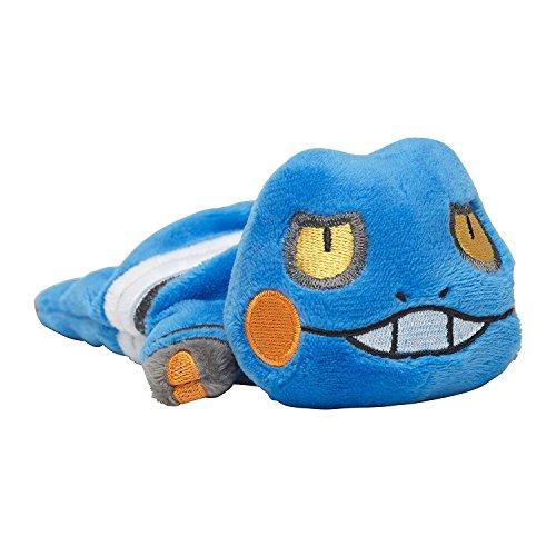 Pokemon Sleeping Croagunk Plush Sleepy Ver. from Japan]()