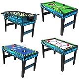 Sunnydaze 40-Inch 10-in-1 Multi-Game Table