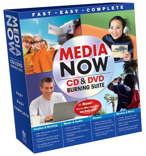 Media Now DVD Burning Suite