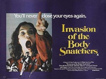 La invasión de los ultracuerpos Póster de la película de 30 ...