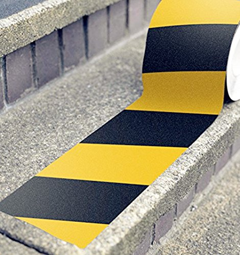 Aibily Anti Slip Traction Tape,Multiduty Anti Slip Tape for Aisle,Stairs, Safety, Tread Step, Indoor, Outdoor Wood Flooring ,Abrasive Adhesive - Mall Outlet Sands